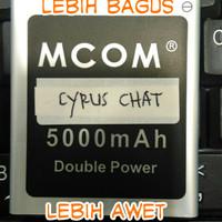 Baterai Batre Batery Batere CYRUS Chat T2017 (Modif)