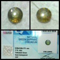 harga Batu Green Sapphire + Memo Tokopedia.com