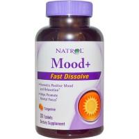 Natrol, Mood+, Fast Dissolve, Tangerine, 30 Tablets