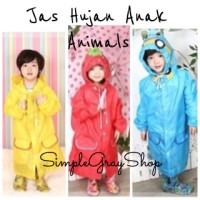 Jas Hujan Anak / Funny Rain Coat