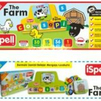 Mainan Edukatif / Edukasi Anak - ispell The Farm Hewan Ternak animal
