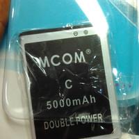 baterai battery smartfren andromax C / C1 dobel power mcom 5000mah