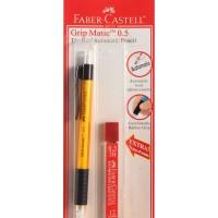 Pensil Mekanik Faber Castell Grip Matic 0.5 + Refill Isi