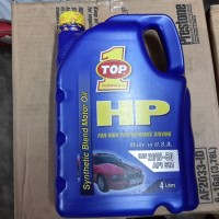 Oli Top 1 HP 20W-50 Synthetic Blend Motor Oil
