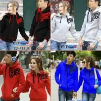 Jaket Couple / Baju Pasangan / jacket couple Qing biru merah abu hitam