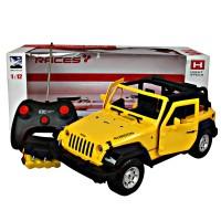 Mobil RC Imitation Racing Jeep Rubicon 2WD Skala 1:12