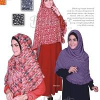 Jilbab Murah Segi Empat Sifon Motif Cerah Permata Hijab Praktis Simpel