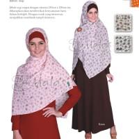 Jilbab Segi Empat Motif Corak Permata Hijab Murah Simpel Modis Praktis