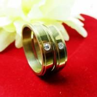 Cincin Couple Titanium sepasang kekasih / Stainless steel pasangan