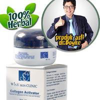 Wish Collagen Activator Cream Wajah, Anti Aging, produk Dr Boyke
