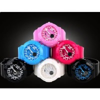 SKMEI Casio Women Sport LED Watch Water Resistant 50m