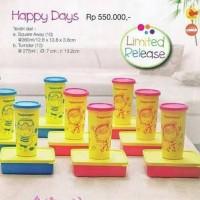 Tupperware Happy Days (Lunch Box + Tumbler)