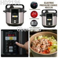 Electric Pressure Cooker Philips HD2136 - Alat Presto Digital