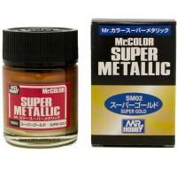 Mr. Color Super Metallic Super Gold SM-02