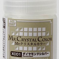 Mr. Crystal Color XC01 Diamond Silver