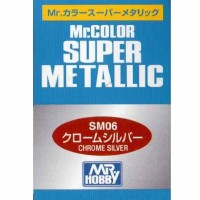 Mr. Color Super Metallic Chrome Silver SM-06
