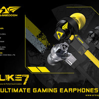 ARMAGGEDDON NUKE-7 EARPHONE