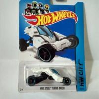 Hot Wheels Max Steel Turbo Racer White
