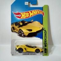 Hot Wheels Lamborghini Aventador J Yellow