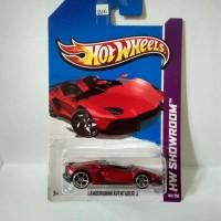 Hot Wheels Lamborghini Aventador J Red