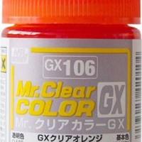 Mr. Clear Color GX Clear Orange GX-106