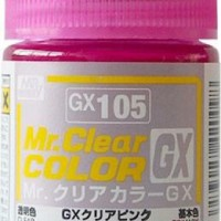 Mr. Clear Color GX Clear Pink GX-105
