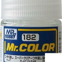 Mr. Color 182 Flat Clear