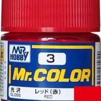 Mr. Color 3 Red