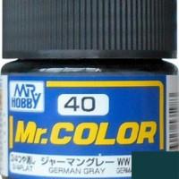 Mr. Color 40 German Gray Flat
