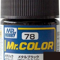 Mr. Color 78 Metallic Black