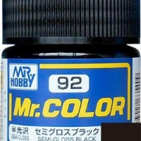 Mr. Color 92 Semi Gloss Black
