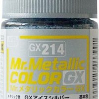 Mr. Color GX Metallic Ice Silver GX-214