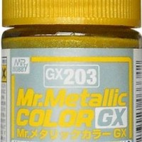 Mr. Color GX Metallic Yellow GX-203