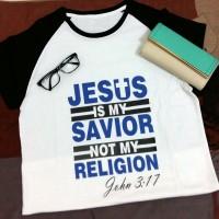 Kaos Natal : Jesus is my savior not my religion