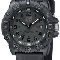 Jam Tangan LUMINOX Original A.3051 BO Navy Seal Color Mark All Black