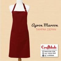 harga Apron/celemek Polos - Maroon Tokopedia.com