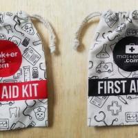 pouch first aid, kantong serba guna,tempat obat, promosi, sangat murah