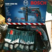 Mesin Bor Tembok Set BOSCH GSB 1300 RE Special Edition