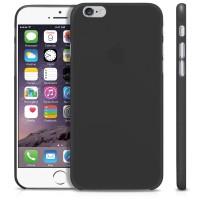 iBuy Apple iPhone 6 Ultra Thin Case 0.2 mm - BLACK - HITAM - Doff
