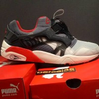 Puma Disc Blaze Grey with Original Bukan Disc lite Future disc