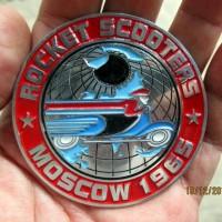 harga Vintage Vespa Lambretta Rocket Moscow Placca Badge Club 1965 Tokopedia.com