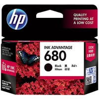Tinta HP 680 Black Original Ink Advantage Cartridge (F6V27AA)