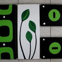 harga Lukisan Dekoratif ( Bunga Nuansa Hijau ) Tokopedia.com