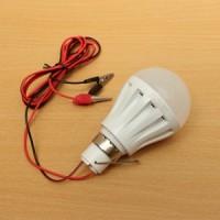 harga Lampu LED 5W DC 12V PUTIH Colok AKI u/ Emergeny/ Jualan 5W Lamp Murah Tokopedia.com
