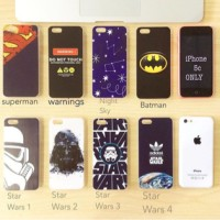 harga STAR WARS SUPERMAN BATMAN CASE IPHONE 5c HARD Tokopedia.com