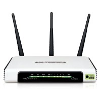 TP-LINK Wireless N Router 300Mbps with Detachable Antenna - TL-WR941ND