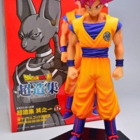 DRAGON BALL SUPER STRUCTURE FIGURE GOKU SS GOD SS, ASIA INDO VER