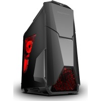 SEGOTEP GAMING CASE WARSHIP EVO - Black - with Fan Controller