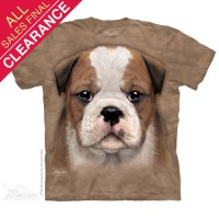 Kaos 3D The Mountain Dewasa Size XL - Bulldog Puppy