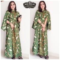 Gamis Batik Putri Ayu Hijau